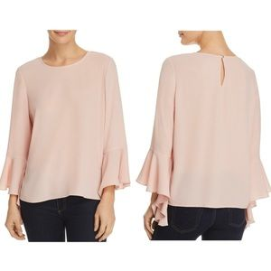 Vince Camuto Cascade Bell Sleeve Top | Size S